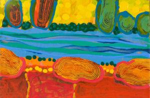 Ivo Alvatone abstract landscape
