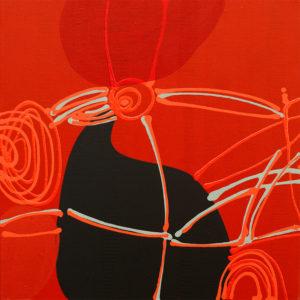 Alice Juno abstract art hard-edge painter