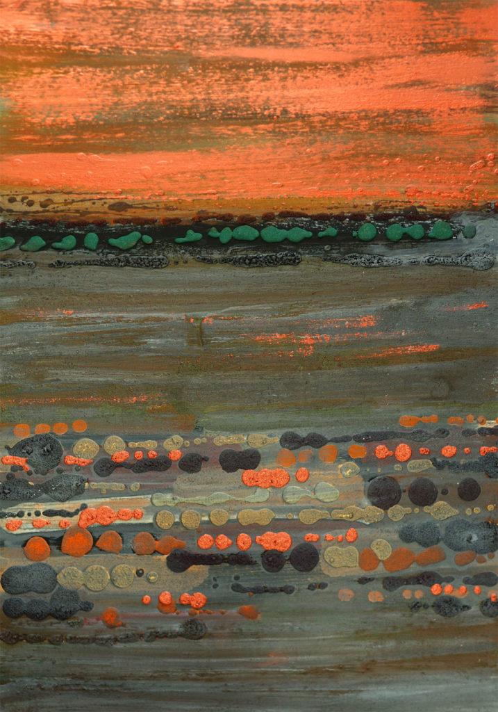Bartos Saro matter painting