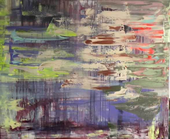 Nora Gem painting