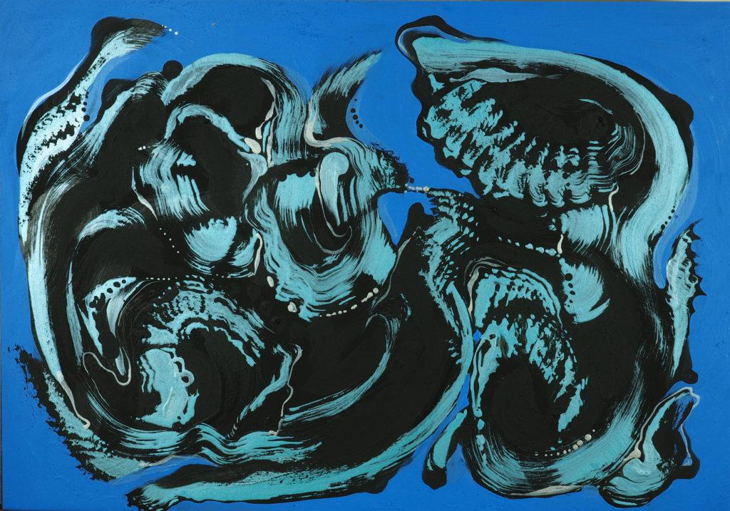 Ana Ksamit- abstract art