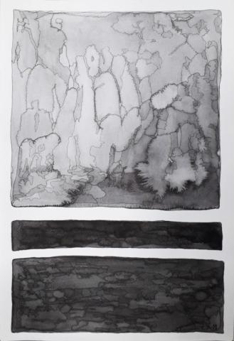 Marija Nikolic Back to Black drawings