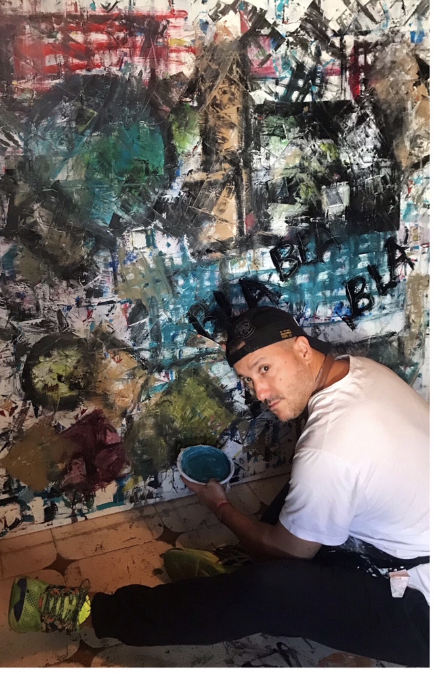 Hector Lopez in the studio (1)