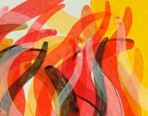 Robert Lardus abstract painting