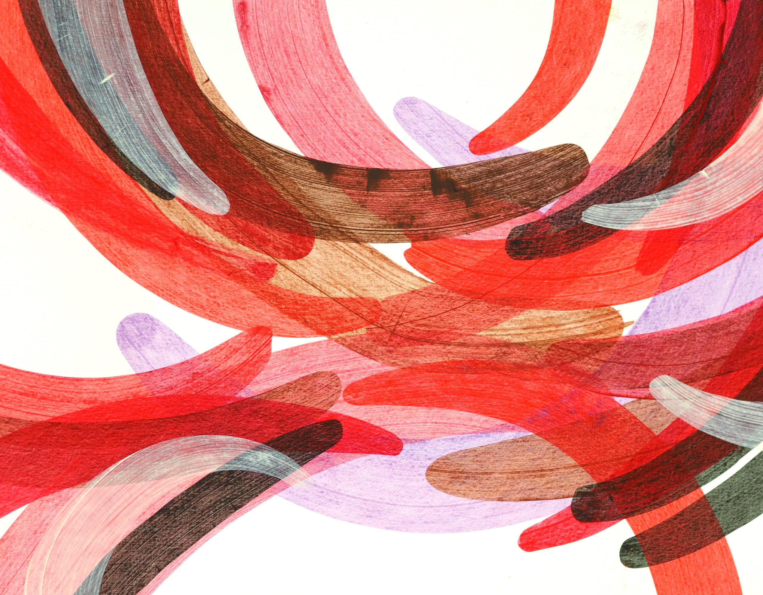 Robert Lardus post-painterly abstraction