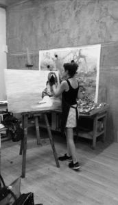 Nora Gem in studio